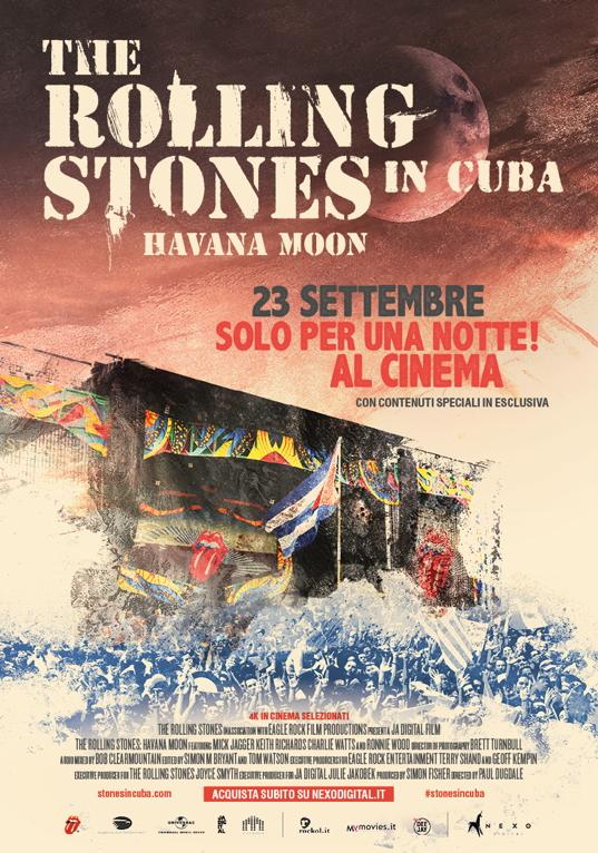 The Rolling Stones In Cuba Havana Moon